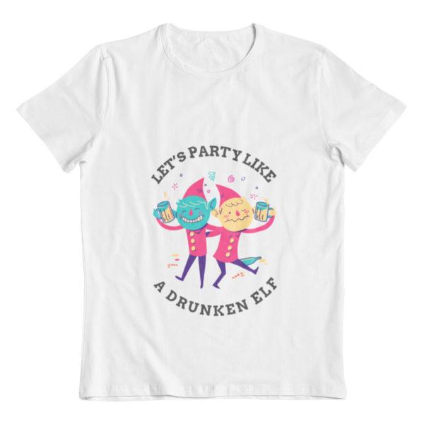 Party Like Drunken Elves T-Shirt