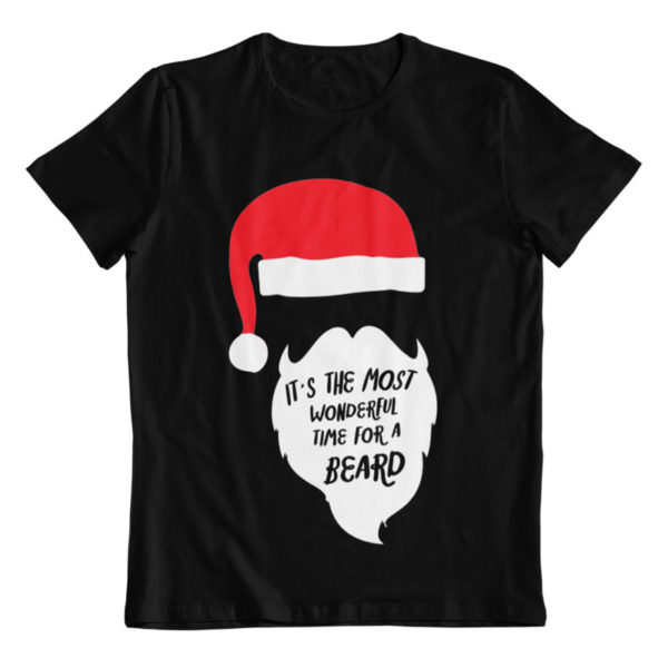 Most Wonderful Time For a Beard T-Shirt